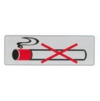 TARGA CARTELLO TARGHETTA ADESIVA 150x50 mm VIETATO FUMARE sigaretta