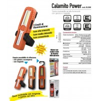 TORCIA LED RICARICABILE CON MAGNETE e GANCIO 250 lm calamito power cfg OFFICINA