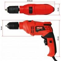 TRAPANO A PERCUSSIONE 500W T51 13 mm REVERSIBILE FORO PERFORARE VALEX 1421373