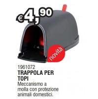 TRAPPOLA CASETTA PER TOPI TOPO A MOLLA CON PROTEZIONE x ANIMALI DOMESTICI VALEX