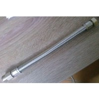TUBO FLESSIBILE gigante CM. 25 1/2x1/2 M-F ACQUA CON PROLUNGO sezione maggiorata