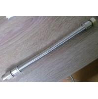 TUBO FLESSIBILE gigante CM. 30 1/2x1/2 M-F ACQUA CON PROLUNGO sezione maggiorata