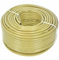 TUBO RETINATO PER IRRORAZIONE PVC MT.100  20 BAR  DIAM. 8-13 mm MOTOPOMPA